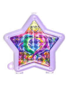 LISA FRANK DOLPHINS COMPACT SPEAKERS