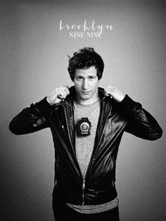 I am obsessed with Andy Samberg in Brooklyn Nine-Nine!