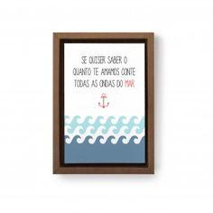 Gravura Ondas do Mar