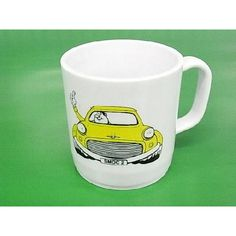 ROVER MINI mug マグカップ プラスチック インテリア/kitchen OLD MINI COOPER Classic MINI
