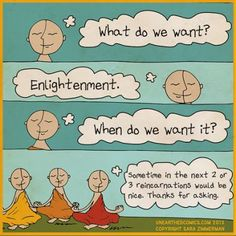 Enlightenment Humor Yoga humor