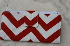 Dave Ramsey Style Cash Envelope System Wallet Red & by FreelySew, $32.00