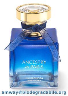 ANCESTRY in Paris cattura tutto il romanticismo della capitale francese nel suo flacone impreziosito dalle tonalità notturne blu e oro, e nella sua fragranza fiorita e misteriosa. Il regalo perfetto lo trovi su http://goo.gl/qk93Ss