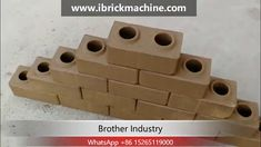 automatic Hydraulic interlocking brick machine is a multifunctional block machine. It is an updated version of Both of them are fully automatic hy. Interlocking Bricks, Making Machine, Triangle, Clay, Clays, Modeling Dough