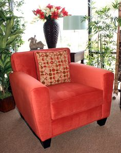 Coral Chair, Furniture, Coral Accents, Armchair