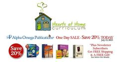 ONE DAY SALE - Save 20% on Alpha Omega Publications + Free Shipping w/ $50 Purchase!