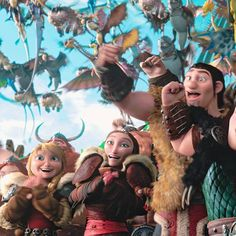 Httyd 2, Hiccup And Astrid, Dragon Trainer, How To Train Your Dragon, Good Movies, Princess Zelda, Dreamworks, Fictional Characters, Fun
