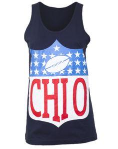 Chi Omega NFL Tank