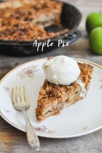 Paleo Apple Pie - Fed and Fit