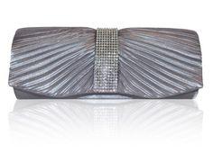 Stunning Silver Grey Satin Crystal Diamonte Evening Clutch Bag Mimi & Thomas http://www.amazon.co.uk/dp/B007263ODK/ref=cm_sw_r_pi_dp_xc-0ub1S1SB25