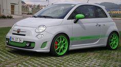"""Alleggerita HLT 17"""" on Fiat 500 Abarth G-Tech"""