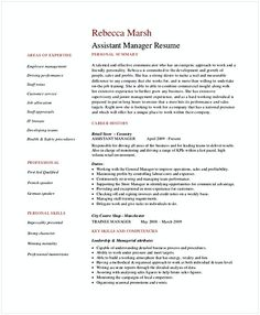 Retail Customer Service Manager Resume  Retail Manager Resume