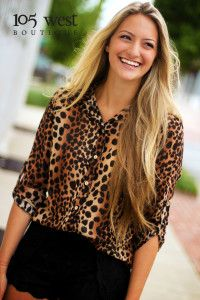 "The ""Jamie"" Blouse $36.50! Visit www.105westboutique.com to order"
