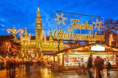 Traditional Christmas market in Vienna, Austria (photo: S.Borisov/Shutterstock)