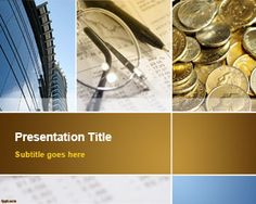 Free Business Collage PowerPoint Template   Free Powerpoint Templates