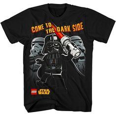 "LEGO Star Wars ""Come To The Dark Side"" Tee - Boys 4-7"