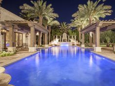 Beautiful Scottsdale, AZ pool.