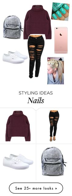 """""""Untitled #235"""" by betty22b on Polyvore featuring Vans"""