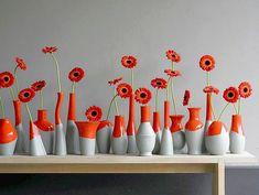 beton deko vase beton deko vase The post beton deko vase appeared first on Knutselen ideeën. Bottle Art, Bottle Crafts, Diy Wall Decor, Diy Home Decor, Cube Decor, Flower Vases, Flower Arrangements, Diy Flower, Vases Decor