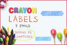 Download Crayon Labels @creativework247