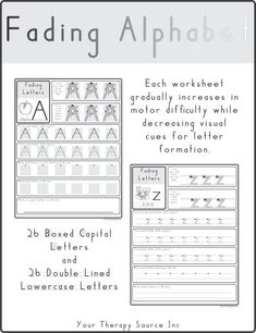 Handwriting worksheets and activities to encourage pre-writing strokes, letter formation and handwriting practice. Many fonts and styles of handwriting available. Handwriting Template, Nice Handwriting, Handwriting Practice, Teaching Handwriting, Teaching Letter Recognition, Teaching Letters, Handwriting Activities, Handwriting Worksheets, Pre Writing