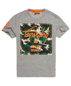 Superdry City Brand Camo T-shirt Superdry c74a985e1f3
