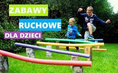 Zabawy ruchowe dla dzieci - Moje Dzieci Kreatywnie Joy, Education, Park, Youtube, Children, Sports, Outdoor, Young Children, Hs Sports