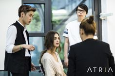 Atria Limited shooting behind story Atria Limited 촬영 비하인드 스토리