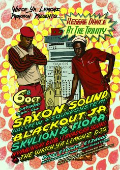 Poster for a Soundsystem event in Bristol   Flickr - Photo Sharing!