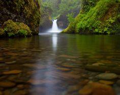 Punchbowl Falls, Eagle Creek, Oregon