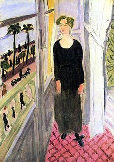 Woman by the Window Henri Matisse - 1921