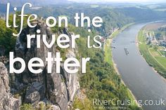 Life on the river is better. #rivercruise #river #holiday #travel #quote #cruiselife
