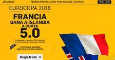 el forero jrvm y todos los bonos de deportes: betfair Francia gana Islandia supercuota 5 Eurocop...