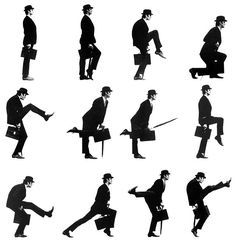 I just love the Ministry of Silly Walks – Monty Python