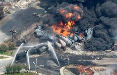 Exploto un tren con combustible en Virginia Occidental - http://notimundo.com.mx/exploto-un-tren-con-combustible-en-virginia-occidental/