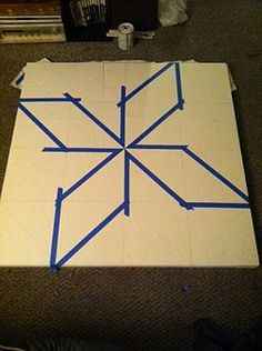 How to Paint a Barn Quilt. A barn quilt is a quilt block pattern painted onto a square of plywood. You don't have to have a barn to make one – you can put your finished project anywhere you like. Barn quilts are a fun craft project to do w. Barn Quilt Designs, Barn Quilt Patterns, Quilting Designs, Block Patterns, Quilting Ideas, Arabesque, Painted Barn Quilts, Barn Signs, Barn Art
