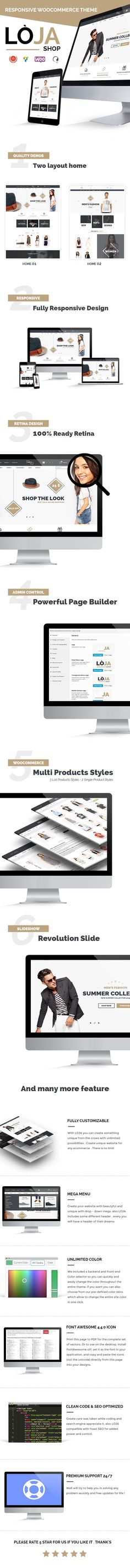 100% RETINA READY TWO LAYOUT HOME POWERFULL PAGE BUILDER MULTIPRODUCTS STYLES REVOLUTION SLIDER FULLY RESPONSIVE DESIGN  MEGA MENU  UNLIMITED COLORS FONT AWESOME 4.4.0 CLEAN CODE & SEO OPTIMIZED PREMIUM SUPPORT