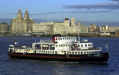 Ferry 'cross the Mersey Liverpool Waterfront, Tower Bridge, Cathedral, Building, Places, Travel, Viajes, Buildings, Cathedrals
