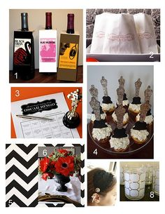 Oscar party ideas.. I want to have one with the girls (If I actually had time)