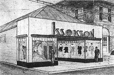 design for the new store 1937