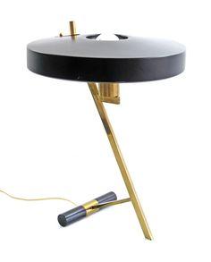 Louis Kalff 'Z'- vintage Philips design table lamp