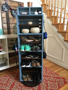 Crate Storage With a New Spin