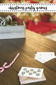 Make holiday game time more fun with these FREE printable holiday playing cards from Everyday Party Magazine #ChristmasGames #HolidayPartyGames #FreePrintables #OTCCheerSquad OTCChristmas #OrientalTrading #AD