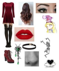 """""""Set me free again"""" by aimeevega649 ❤ liked on Polyvore featuring Disney, Nine West and Kevin Jewelers"""