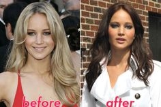 Jennifer Lawrence Hairstyle Makeover