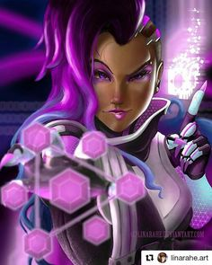 #Sombra from #overwatch . . . #Draw #Drawing #Art #Fanart #Artist #Illustration #Design #sketch #doodle #tattoo #Arthelp #Anime #Manga #Otaku #Gamer #Nerdy #Nerd #Comic #Geek #Geeky