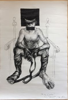 #thekingofmadness by artist Aurora Calin 50 x 70 cm #drawing #art #conceptualart #vision