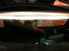 Twitter / gensugai: ひらくPCバッグ、なんだかんだでMacBookと雑誌 ...