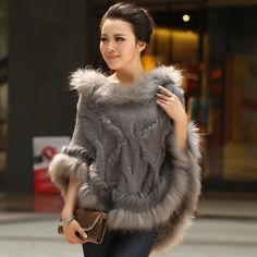 Knitting with fur. Inspiration .. Discussion on LiveInternet - Russian Service Online Diaries