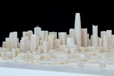 3ders.org - Autodesk & Steelblue created largest-ever 3D-printed model of San Francisco   3D Printer News & 3D Printing News